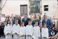 Participació en la Processó del Quadre de Santa Rosalia
